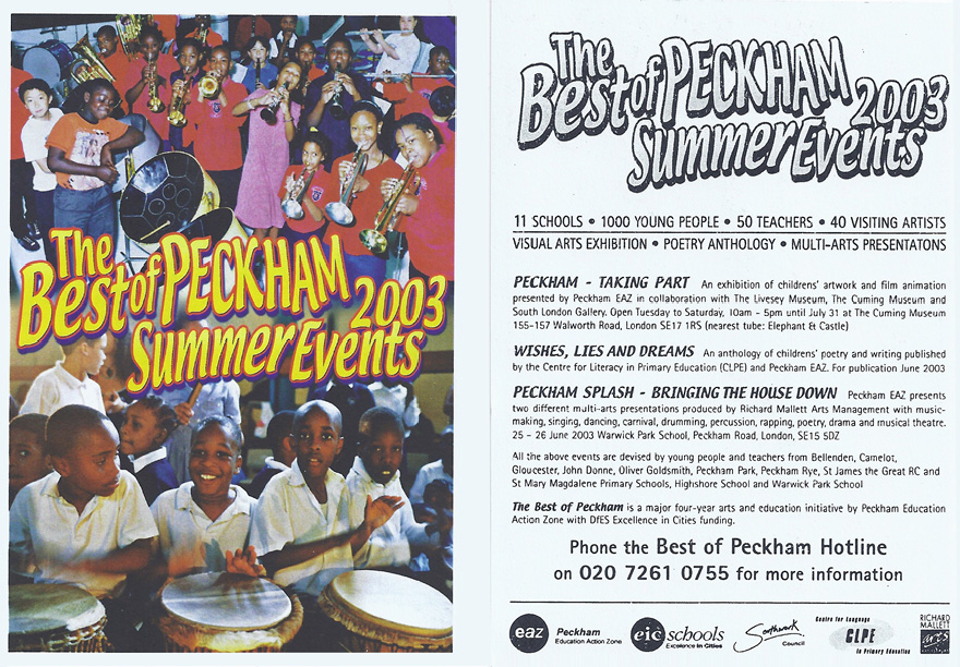 Best of Peckham2003